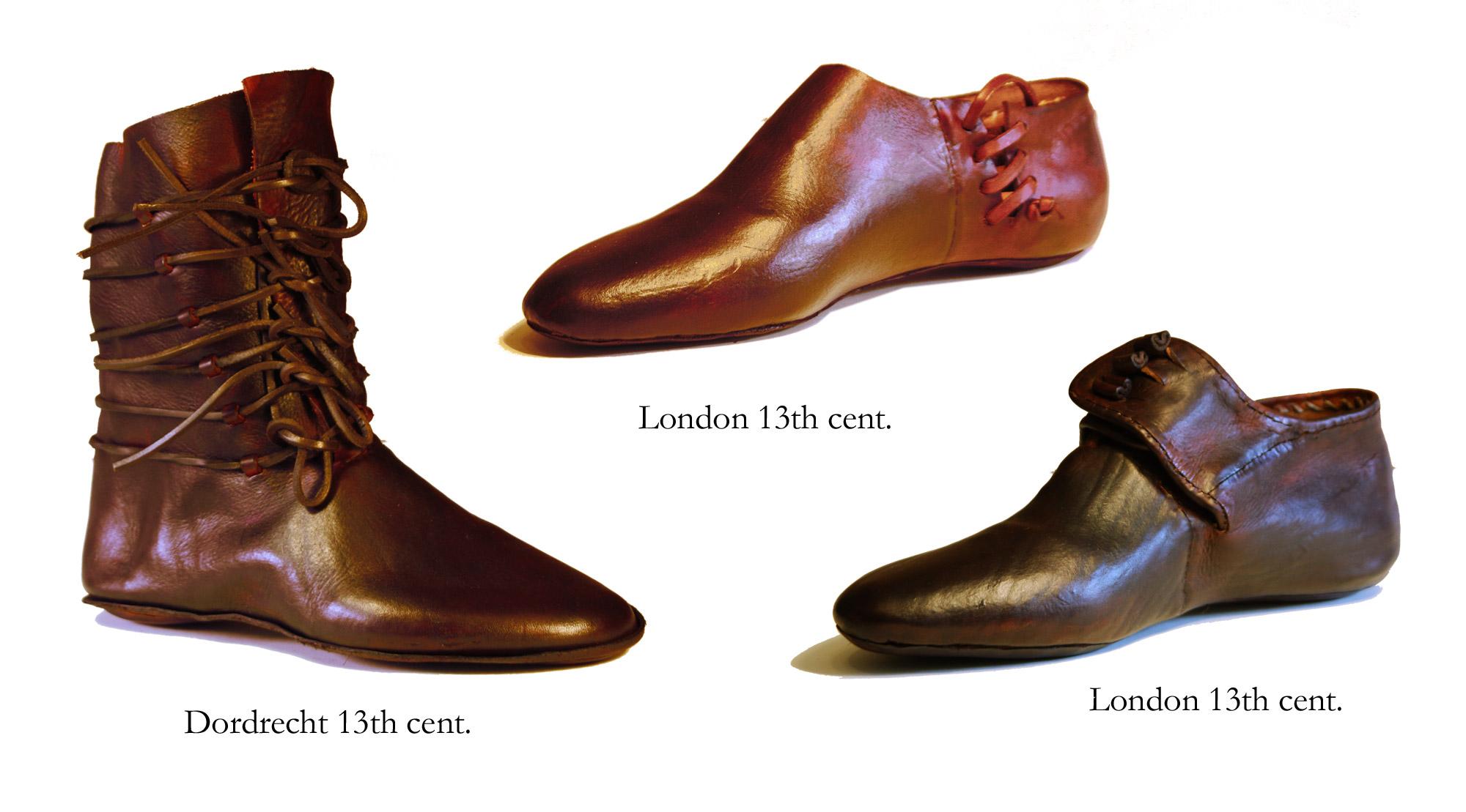 Shoes 13th cent. (set 2
