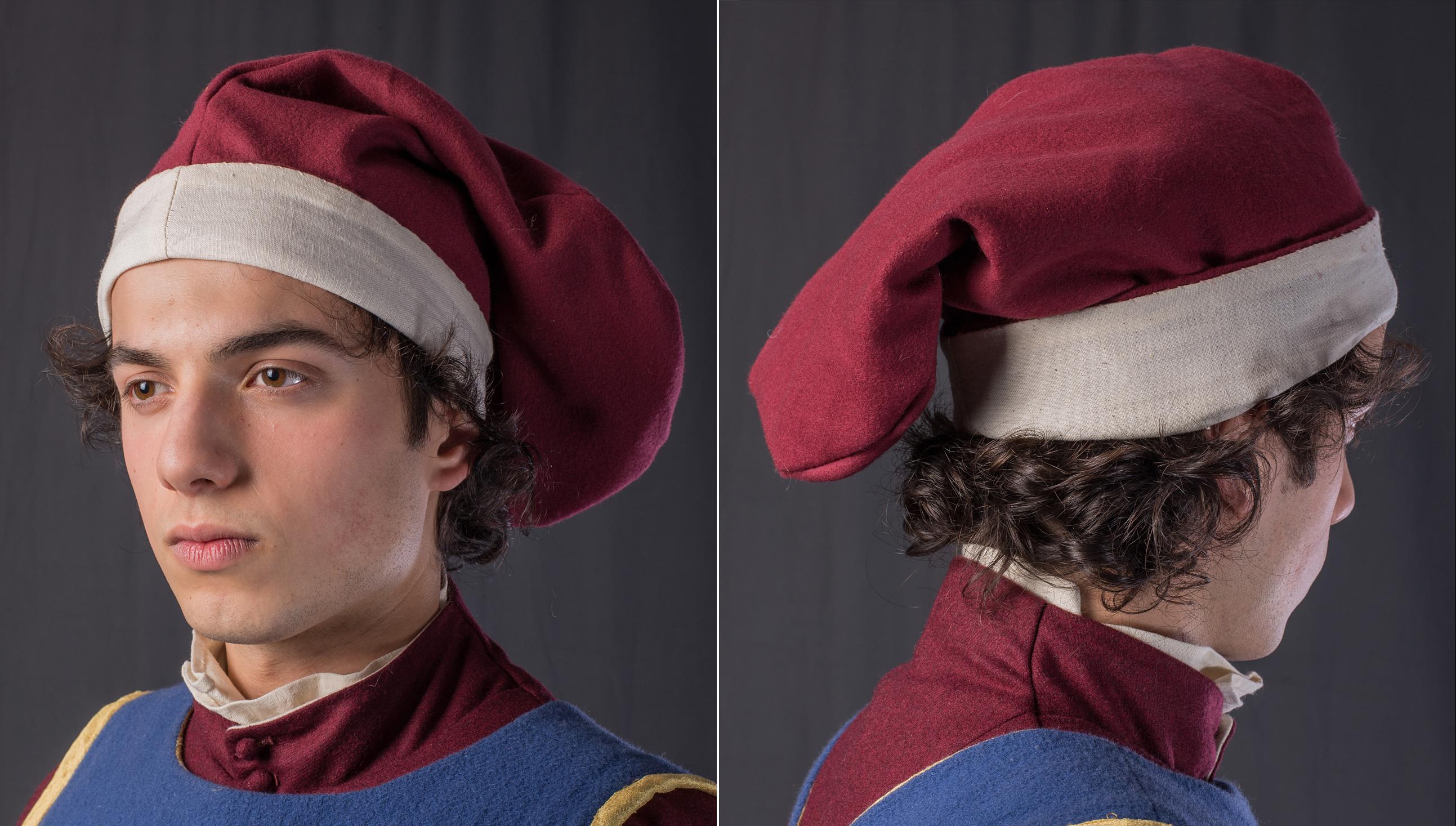 Headwear medieval design bag hat jeuxipadfo Images
