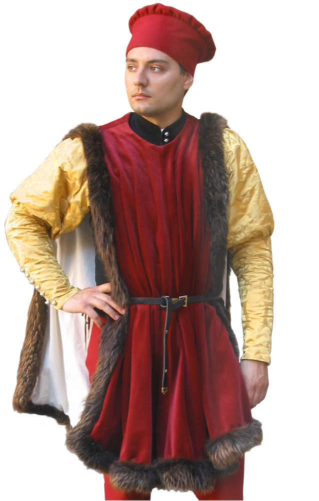 MALE OUTERWEAR Findings MEDIEVAL DESIGN